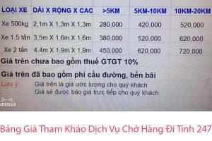 bang-gia-xe-tai-cho-hang-hcm